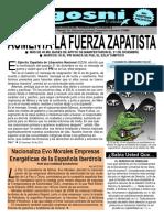 Kgosni 118-Aumenta La Fuerza Zapatista
