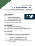 Programa VIII Simposio de Metrología