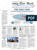The Daily Tar Heel for April 20, 2017