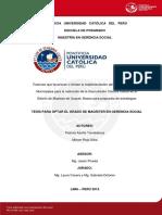 Azana Patricia Rojo Miriam Factores Incentivos