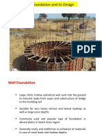 Design of Well Foundation