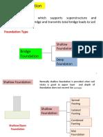 Design of Shallow Bridge Foundation