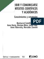 Castello_2007_El Proceso de Composicion de Textos Academicos