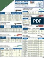 Taparia Tools Price List w.e.f 10th Sep 2013 (1)