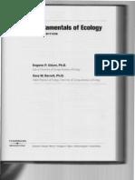 Ecology Odum Chapter 1