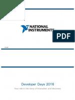 Developer Days Keynote 2016