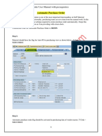 Automatic Purchase Order Creation7