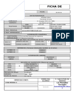 Ficha de Matricula CETIS