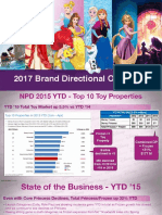 Disney Princess Brand Directional Overview 2017