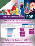 Disney Princess Brand Directional Overview 2017