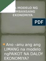Mga Modelo Ng Pambansang Ekonomiya-ekonomiks-3rd Quarter