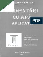 Alimentari Cu Apa_aplicatii_ a. Manescu