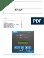 O & M Manual for the ATC-300+ ATS Controller
