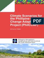 Philippine Climate Scenarios by PAGASA