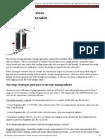 ABSOGER Atmosphere Controlled, Nitrogen Generator