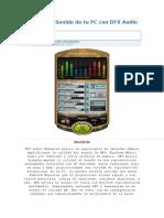 Amplifica El Sonido de Tu PC Con DFX Audio