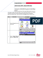 Quick Guide System 1200 - Import DXF Data