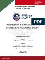 Aredo Alvarado Maria Modelo Metodologico