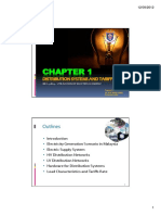 CHAPTER 1 Distribution Systems and Tariffs