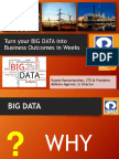 Turning big data to business outcomes