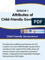 Attributes of Child-Friendly Local Governance PHILIPPINES