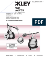 Float and Lever Valves