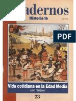 Cuadernos Historia 16, Nº 023 - Vida Cotidiana en La Edad Media