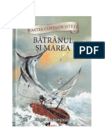 Coperta Batranul Si Marea