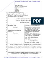Dkt 66 - Yaffe's Opposition to Fine's Motion to Vacate - Fine v. Sheriff (Habeas Corpus)