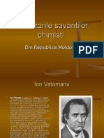 Realizarile savantilor chimisti