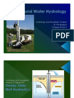 Groundwater Hydrology Dr. Phil Bedient
