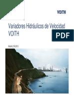 Variadores hidráulicso VOith ]