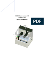 LY 9507HII SlurrySamplerInstructionManual