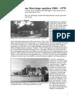 Storkommune Stoevrings Opstaaen 1803-1970