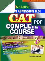 CAT Complete Couse [Upkar].pdf
