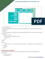Application de Gestion Pharmaceutique Avec Visual Basic .Net