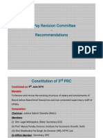 Presentation on 3rd Prc Recommendation