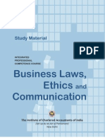 Business Law, Ethics and Communication