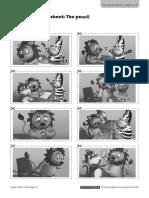 Super Safari 3 Family Fun_Story Worksheet _U1