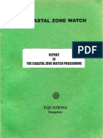 Report of the Coastal Zone Watch Programme