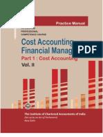 Cost Accounting Vol. II