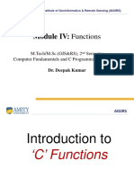 4 Functions Concepts