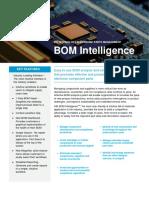 BOM Intelligence Service Datasheet 2016
