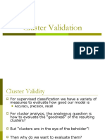 Cluster Validation