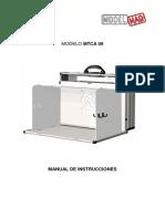 MTCA09 Manual Instrucciones