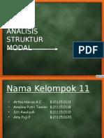 struktur modal