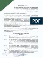 Resolucion de la Direccion Nacional de Aduanas de Paraguay 709.2015
