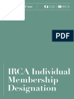 IRCA Scheme Brand Terms of Use