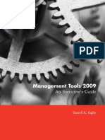 Management Tools 2009 Executive Guide
