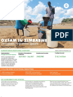 Contributing Towards Ending Poverty in Zimbabwe - Monthly Update